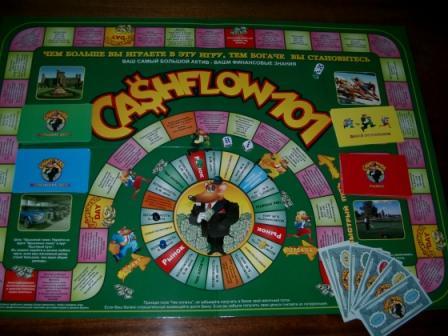 Игра Cashflow 101 не оригинальное поле для этой игры, нелегальная копия из Харькова или из Одессы