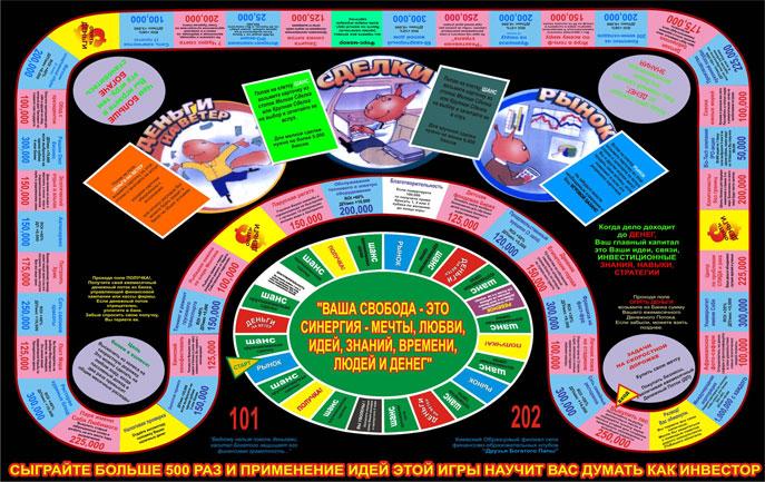 Финансовая Игра Денежный Поток 101 202 Cashflow 101 202